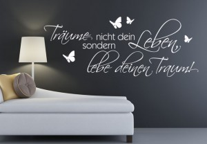 wandgestaltung ideen mit wandtattoos wandgestaltungideen. Black Bedroom Furniture Sets. Home Design Ideas